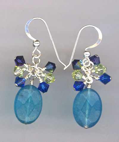 Bright & Lovely Swarovski Crystal Earrings