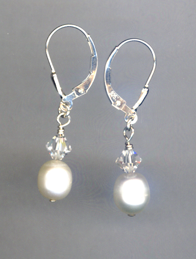 Tear's Of Joy Pearl Earrings