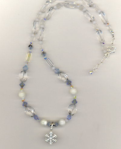 Let It Snow! Necklace