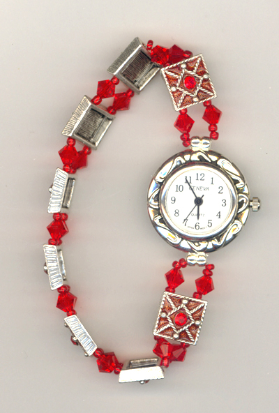 Valentine Pure Allure Crystal Watch