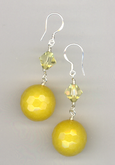Lemon Drop ~Gemstone Earrings