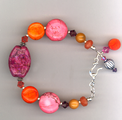 Purple Craze ~ Gemstone Bracelet