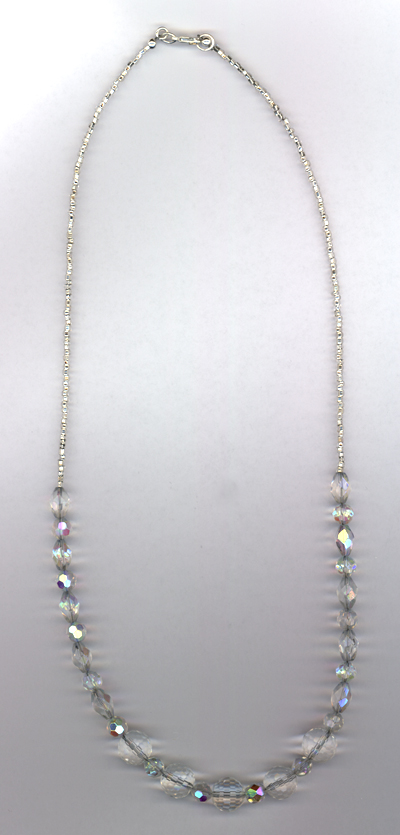 Crystal Graduated Sparkle Necklace
