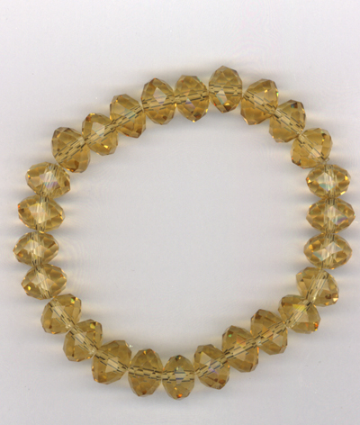 Topaz Crystal Stretch Bracelet