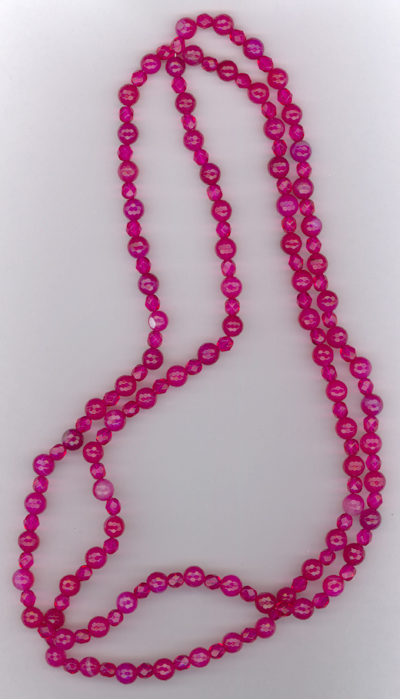 Party Pink ~ Crystal Beaded Necklace