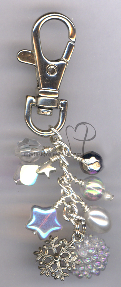 Let It Snow! Key Chain/Purse Charm