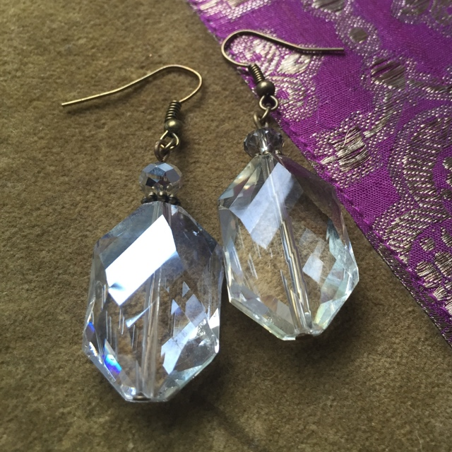 Bohemian Beauty Crystal Earrings