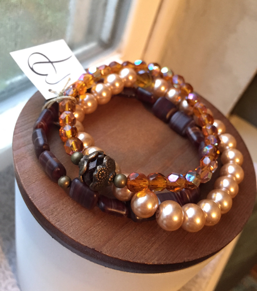 Fall Jewelry Bracelet Stack