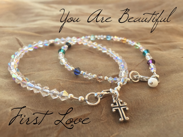 special first love you are beautiful bracelet combo
