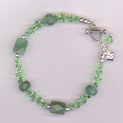 avertine chyrsolite bracelet