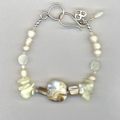 golden summer bracelet