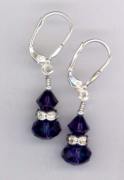 Royal Beauty ~ Crystal Earrings