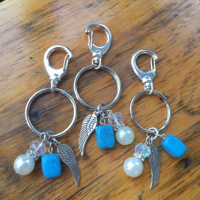 Key to Fly Turquoise Pearl